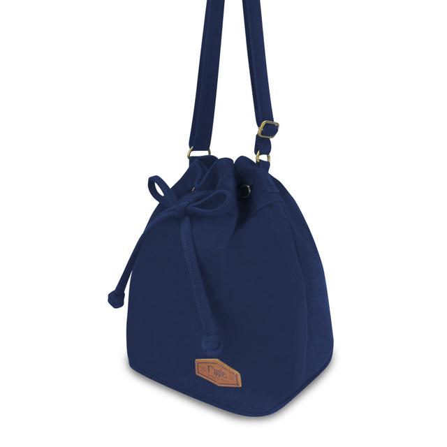 [PROMO] Chloe Basic Bucket Sling Bag (Navy Blue)