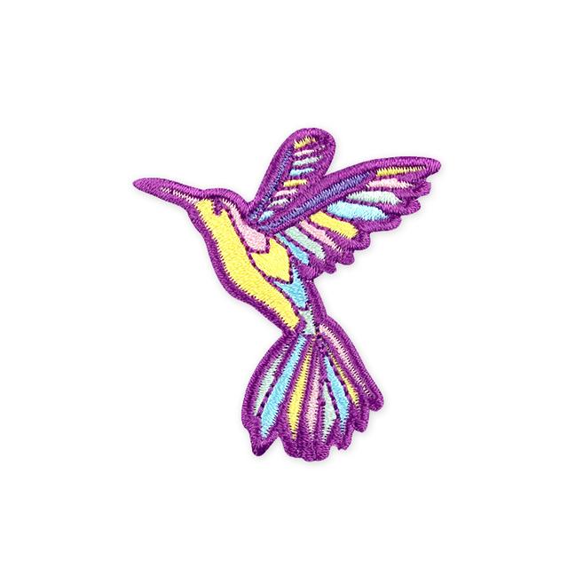 [PROMO] Hummingbird Iron-On Patch