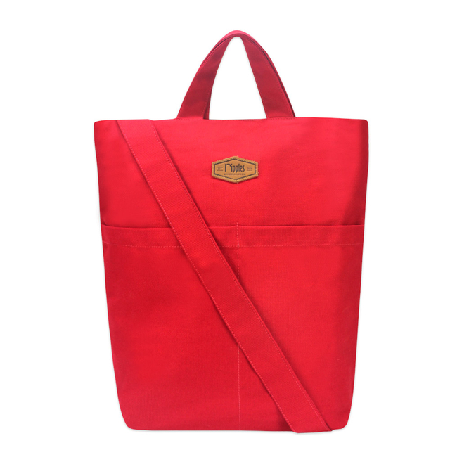 [PROMO] Faith Canvas Sling Bag (Red)