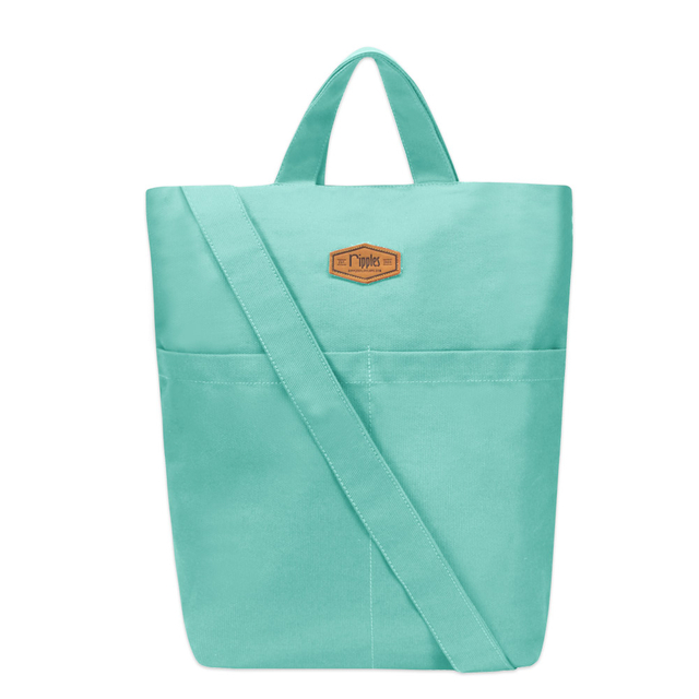 [PROMO]  Faith Canvas Sling Bag (Turquoise)
