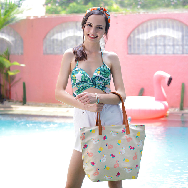 [PROMO] Summer Floats Tote Bag (Natural)