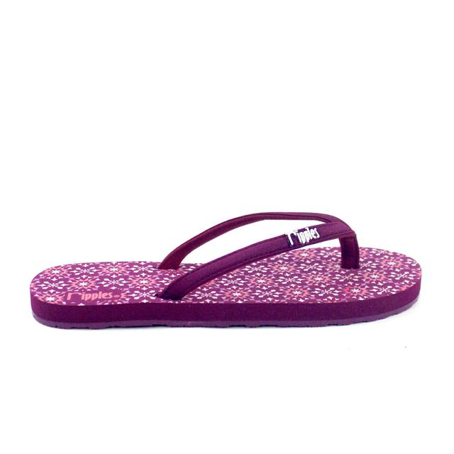 [SALE] Nadia Ladies Flip Flops (Maroon Purple)