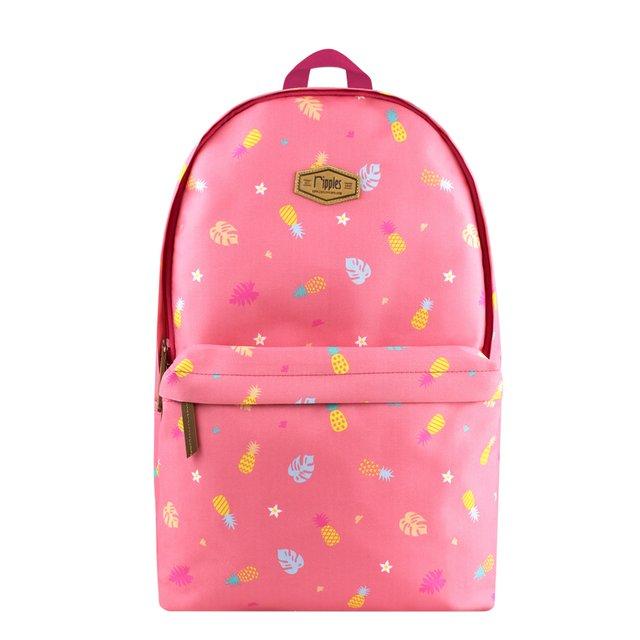 [PROMO] Pineapple Digital Print Backpack (Pink)