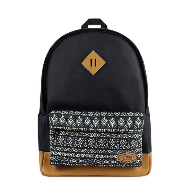 [PROMO] Astrial Aztec School Backpack (Black)