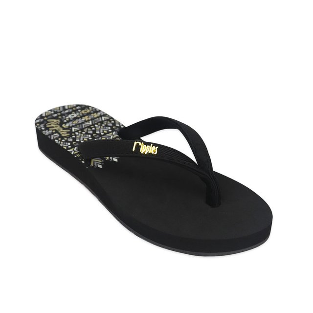 Astrial Aztec Ladies Sandals (Black)