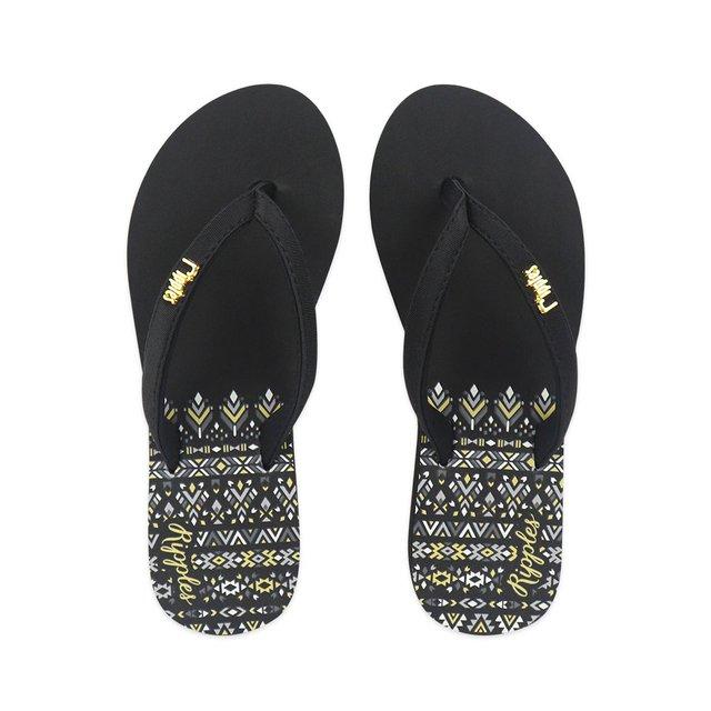 Astrial Aztec Ladies Sandals (Black)