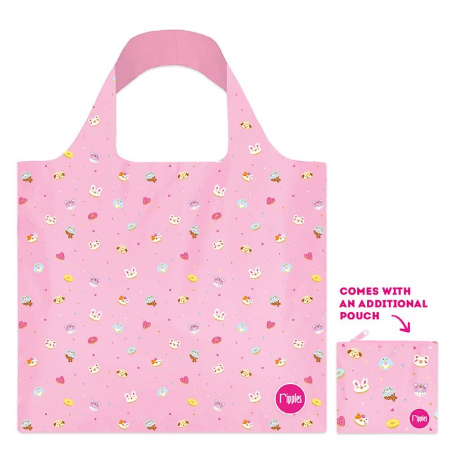 [PROMO] Animal Donuts Recycle Eco Tote Bag