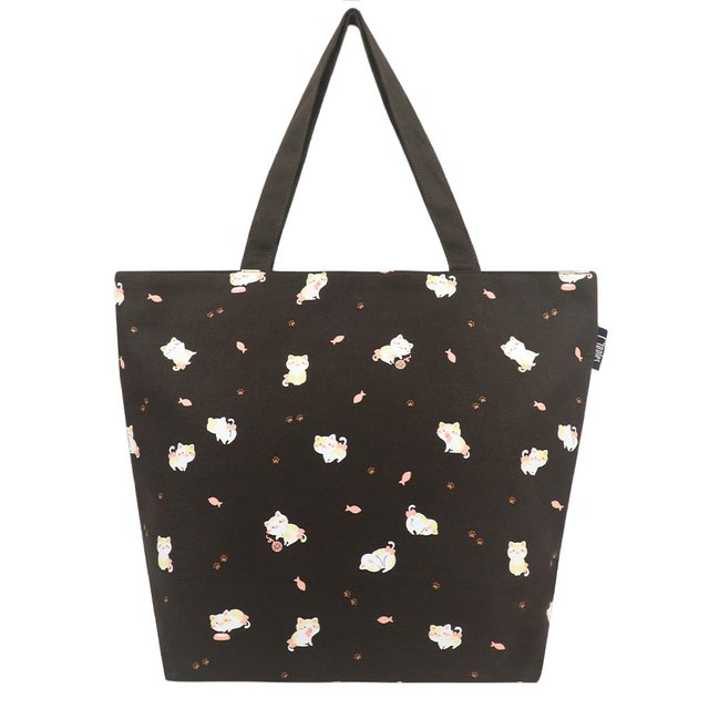 [PROMO] Kittens Tote Bag (Brown)