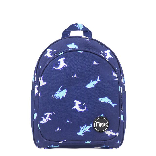 Sharks Kids Backpack (Navy Blue)