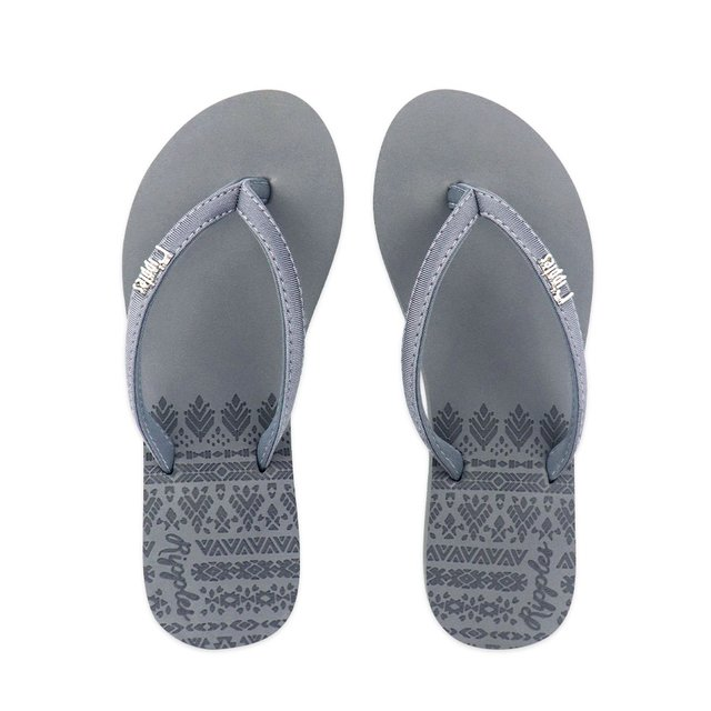 Astrial Aztec Laser Embossed Ladies Sandals (Grey)